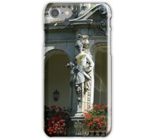 The Caryatid Porch in Baden-Baden, Germany iPhone Case/Skin
