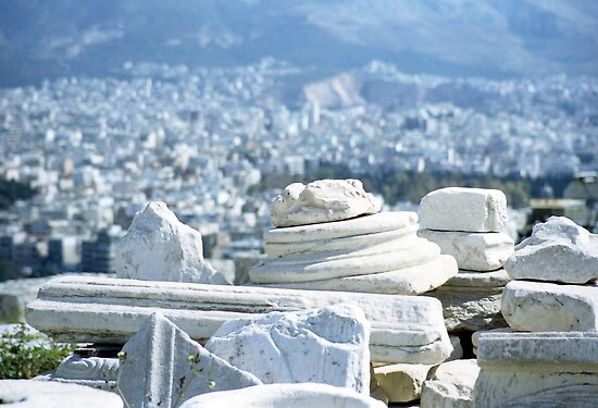 Elegant Rubble, Athens by Tiffany Dryburgh