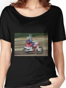 motocross 12 (t) in Modern Art, Watercolor or Picasso and Dali ! by way Olavia-Okaio Creations with fz 1000 .... 500 000 2016 Photos Women's Relaxed Fit T-Shirt