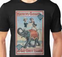 Performing Arts Posters Mathews Bulger in the polite comic play At gay Coney Island by Levin C Tees 0770 Unisex T-Shirt