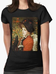 James Tissot - Type Of Beauty  Womens Fitted T-Shirt