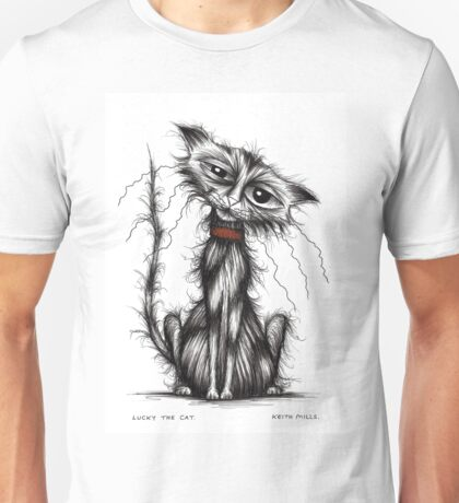 Lucky the cat Unisex T-Shirt