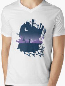 howls moving castle Mens V-Neck T-Shirt