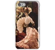 James Tissot - Political Woman  iPhone Case/Skin