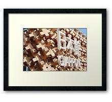 Exposition universelle de Milan Framed Print