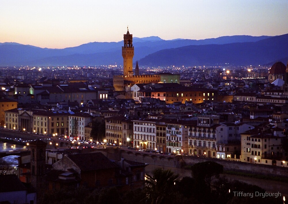 Dusk in Florence by Tiffany Dryburgh