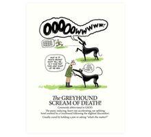 Greyhound Glossary: GSOD Art Print