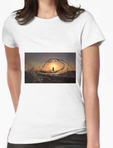 Point of Ayr lighthouse at sunset T-Shirt