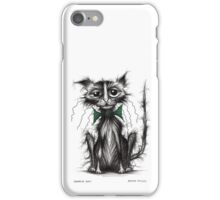 Horrid cat iPhone Case/Skin