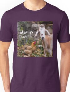 Always Hungry - hungry lil' goat  Unisex T-Shirt