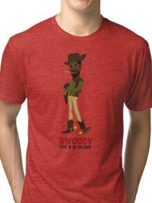 Dwoody (titled) Tri-blend T-Shirt