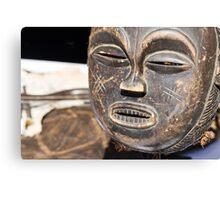 wooden mask Canvas Print
