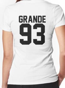 #ARIANAGRANDE Women's Fitted V-Neck T-Shirt