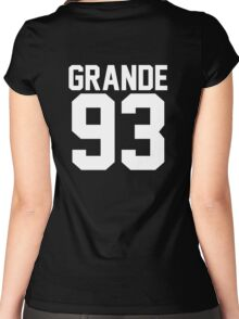 #ARIANAGRANDE Women's Fitted Scoop T-Shirt