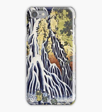 Hokusai Katsushika - The Kirifuri Waterfall  iPhone Case/Skin