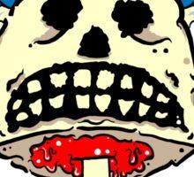 Punk Rock Skull Sticker