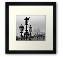 Taking in the Scenery Framed Print
