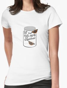 The Butterfly Jar Womens Fitted T-Shirt