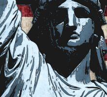 Liberty Flag Sticker