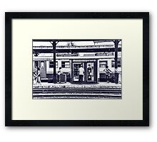 Train Station Lucca Italy Framed Print
