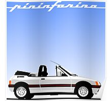 Peugeot 205 by Pininfarina Poster