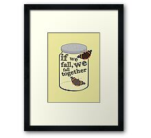 The Butterfly Jar Framed Print
