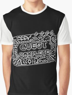 Monster Hunter Quest Complete - Black Graphic T-Shirt