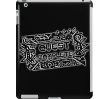 Monster Hunter Quest Complete - Black iPad Case/Skin