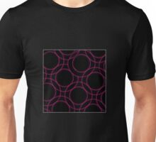 Fractal glowing background  Unisex T-Shirt