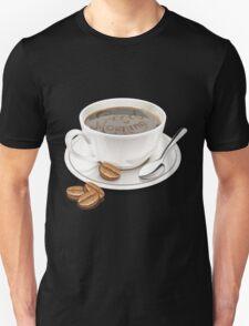 tasse de cafe bonjour Unisex T-Shirt