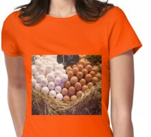 Eggs for sale  Womens Fitted T-Shirt
