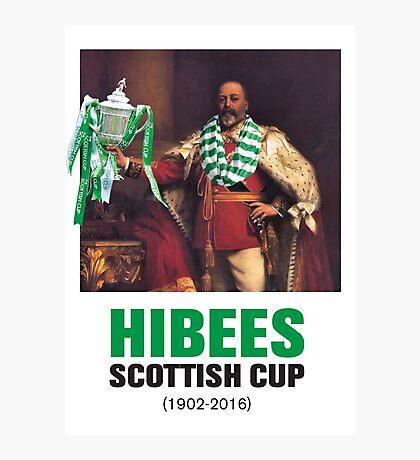 Hibs scottish Cup winners 2016 Photographic Print