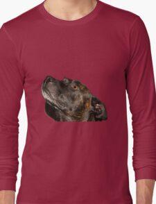 Cute Staffie Long Sleeve T-Shirt