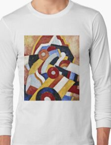 Marsden Hartley - Abstraction  Long Sleeve T-Shirt