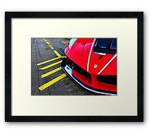 Ferrari Fxx Framed Print