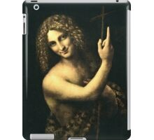 Leonardo Da Vinci - St  John The Baptist  iPad Case/Skin