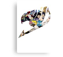 Fairy tail logo Canvas Print
