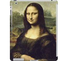 Leonardo Da Vinci - La Joconde, Portrait De Monna Lisa  iPad Case/Skin