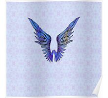 San Francisco Angel Wings I Poster