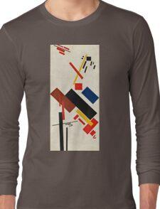 Kazimir Malevich - Stroyuschiysya Dom  Long Sleeve T-Shirt