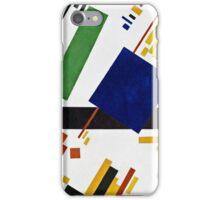 Kazimir Malevich - Suprematist Composition  iPhone Case/Skin