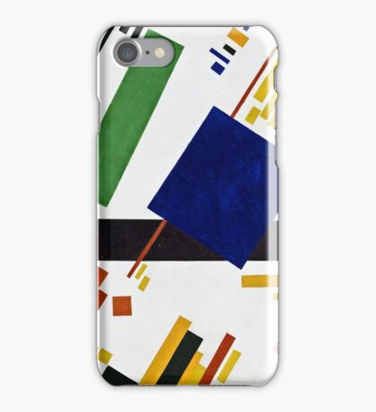 Kazimir Malevich - Suprematist Composition  iPhone Case/Skin