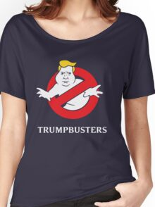 Trump Busters - Donald Trump Ghostbusters Women's Relaxed Fit T-Shirt