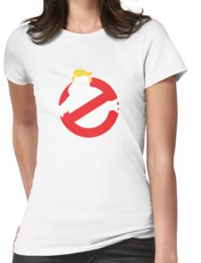 Trump Busters - Donald Trump Ghostbusters Womens Fitted T-Shirt