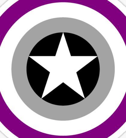 Pride Shields - Ace Sticker