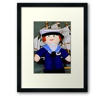 Knitted Dolls Fun 2 Framed Print