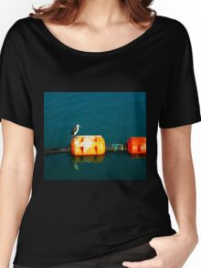 Penguin at Apollo Bay Women's Relaxed Fit T-Shirt