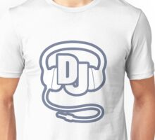 DJ head set simple graphic Unisex T-Shirt