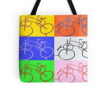 Chain bike composition 2 Tote Bag