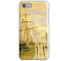Claude Monet - The Seine At Rouen iPhone Case/Skin